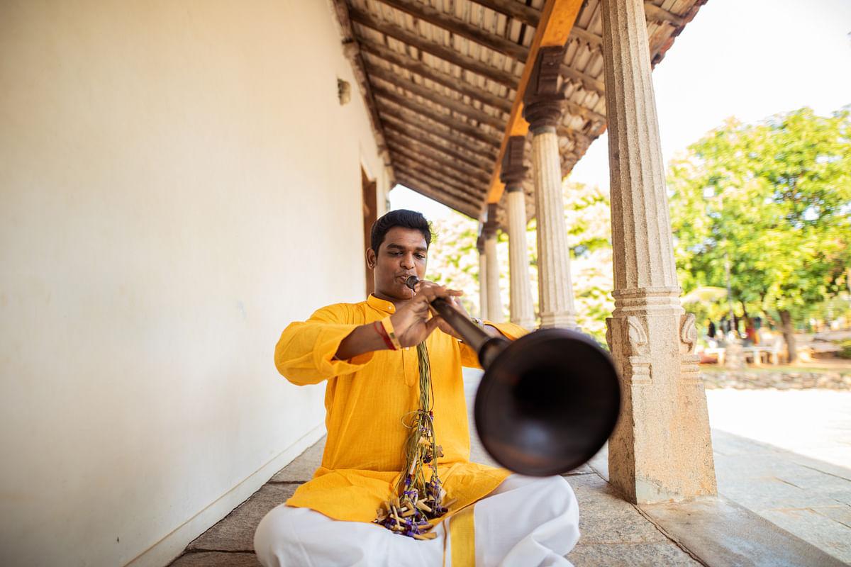 Meet Mylai Karthikeyan, the <i>nadaswaram </i>player