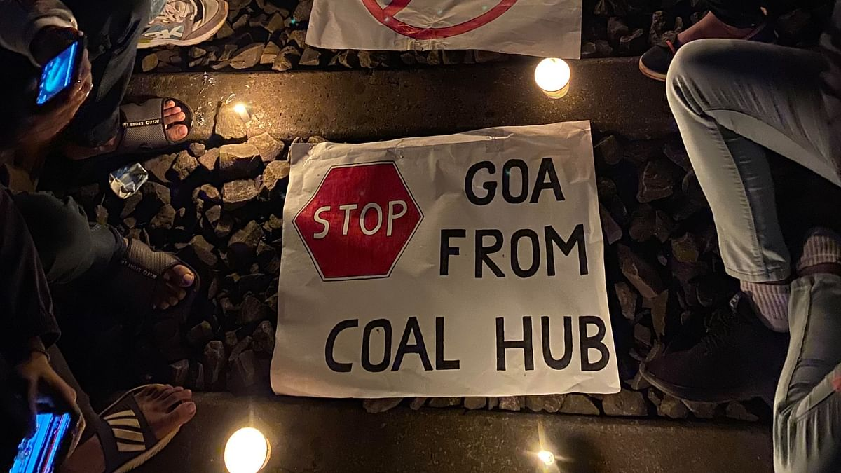 """The controversial <a href=""""https://www.thequint.com/news/india/goa-environmentalists-protests-over-railway-track"""">track-laying work</a> in Davorlim village was postponed citing """"operational constraints""""."""