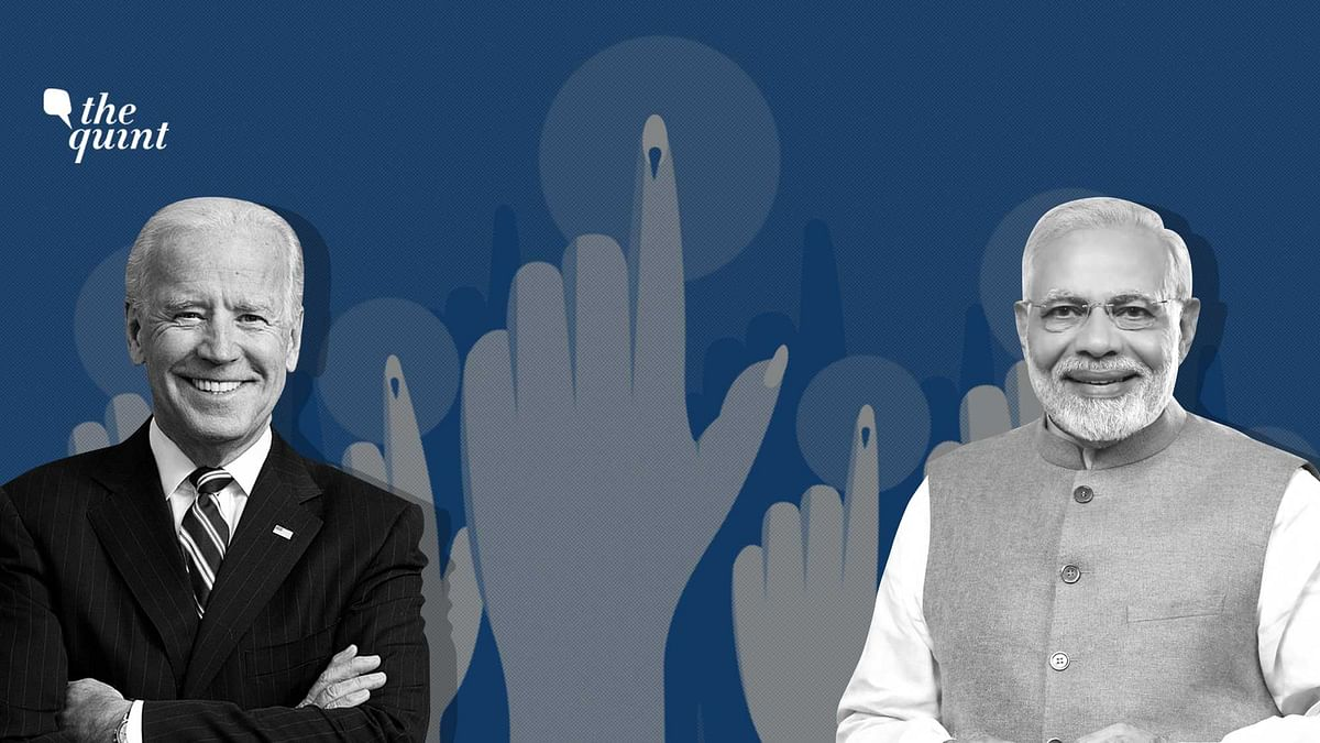 Understanding how Joe Biden, US President and Narendra Modi, Prime Minister of India came into power in their respective democracies.