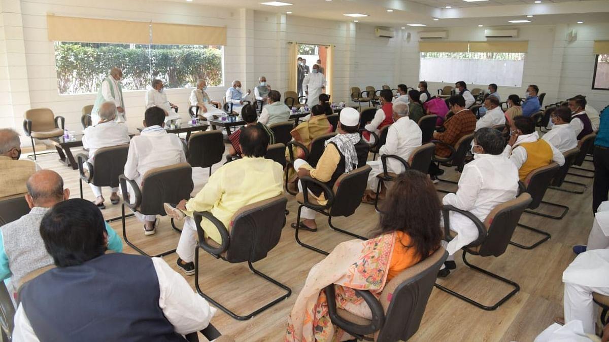 NDA meet at Nitish Kumar's residence.
