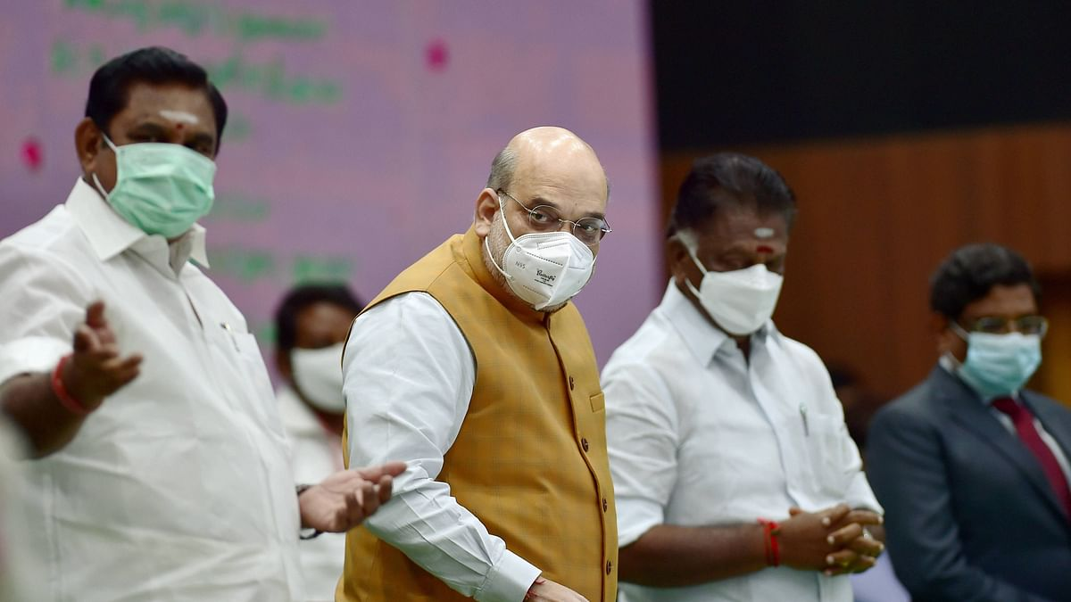 Home Minister Amit Shah is likely to participate in the Thuglak anniversary event in Chennai, scheduled for 14 January.