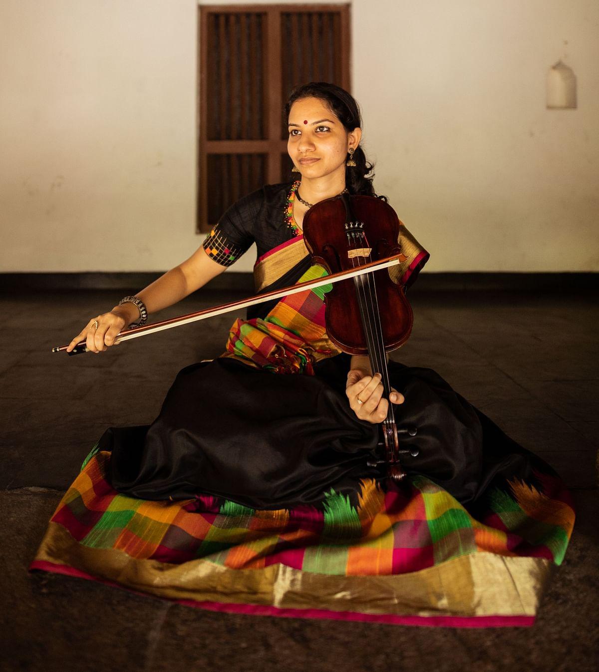 Meet the violinist, Shreya Devnath