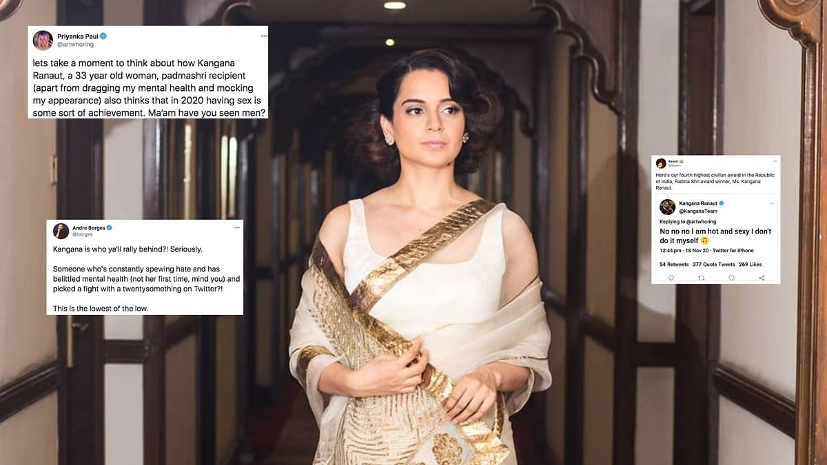 Kangana Called Out for Mocking Mental Health & Appearances Online