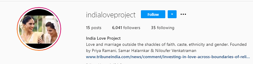 This Instagram Account Is Celebrating Indian Love Across Barriers