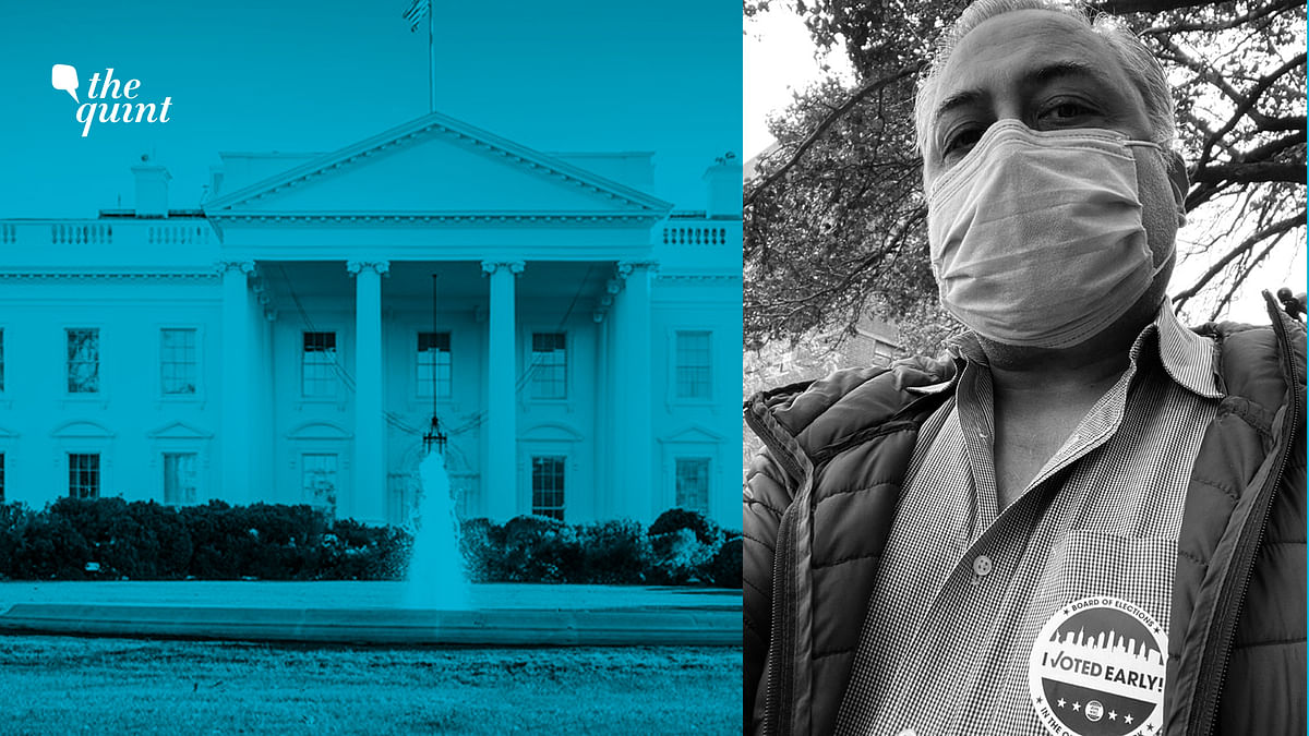 Photo of the White House and the author of the piece, Aseem Chhabra, used for representational purposes.