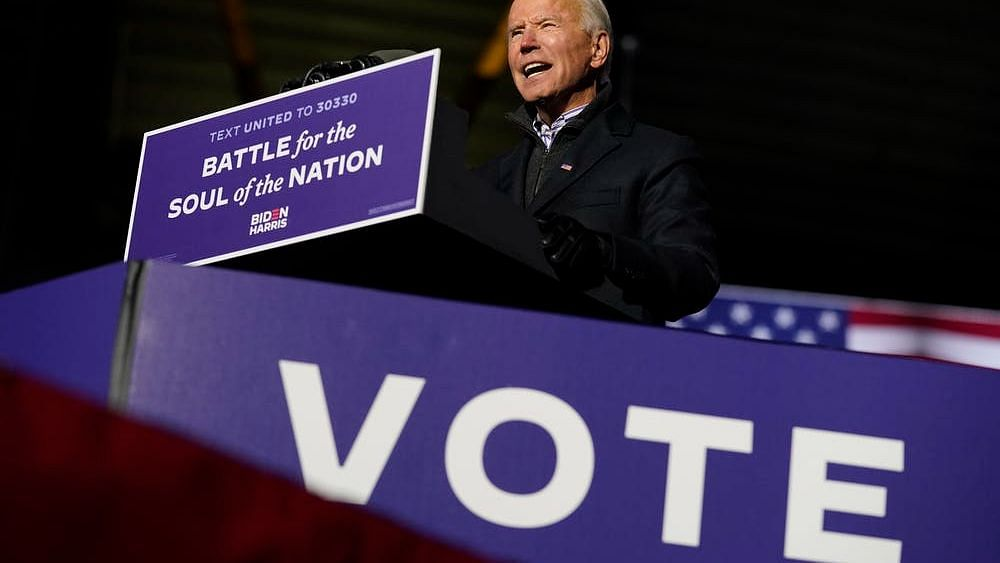 If Biden ends up winning by a large margin on election night, the uncertainty will abate.