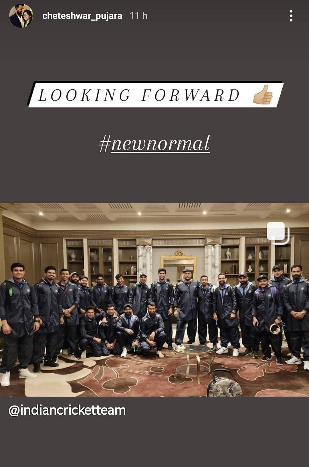 Team India Show Off Personalised PPE Kits as They Leave for Aus