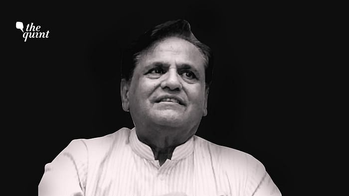 Image of Ahmed Patel used for representational purposes.