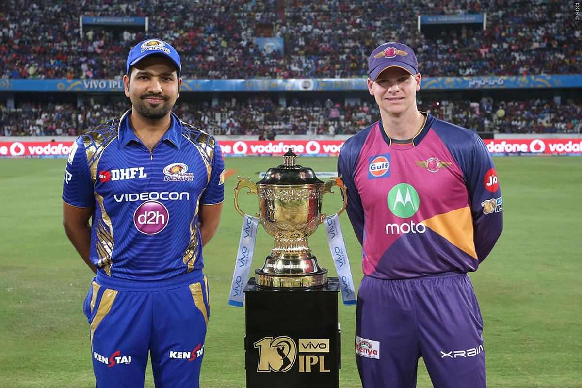 Mumbai Indians lost to Rising Pune Supergiant in Qualifier 1 but beat them in the 2017 IPL final by 1 run