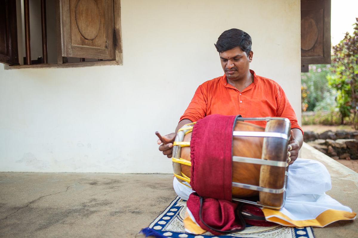 Meet <i>thavil</i> artist eand Gummudipoondi R Jeevanandham