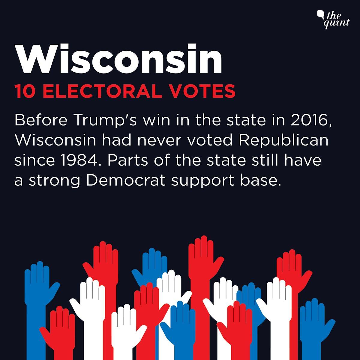 Biden Projected To Win Wisconsin, Trump Campaign To Seek Recount