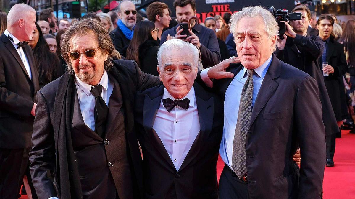 Martin Scorsese at The Irishman premiere in London.
