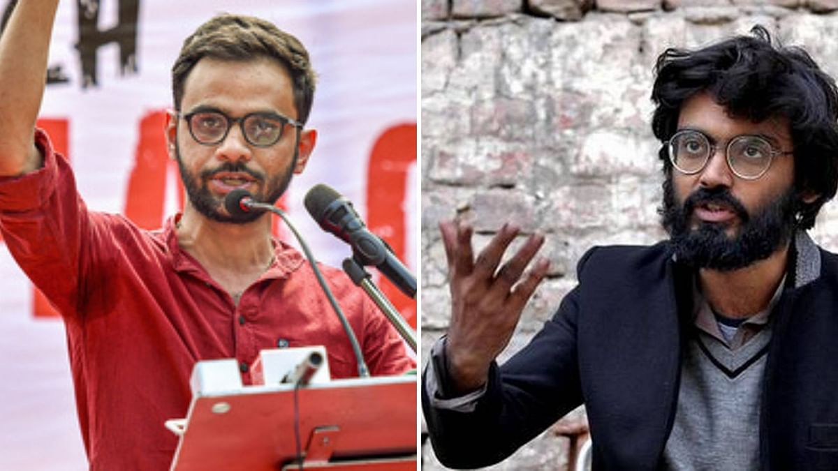 Delhi Govt Sanctions Sedition Charges Against  Umar, Sharjeel