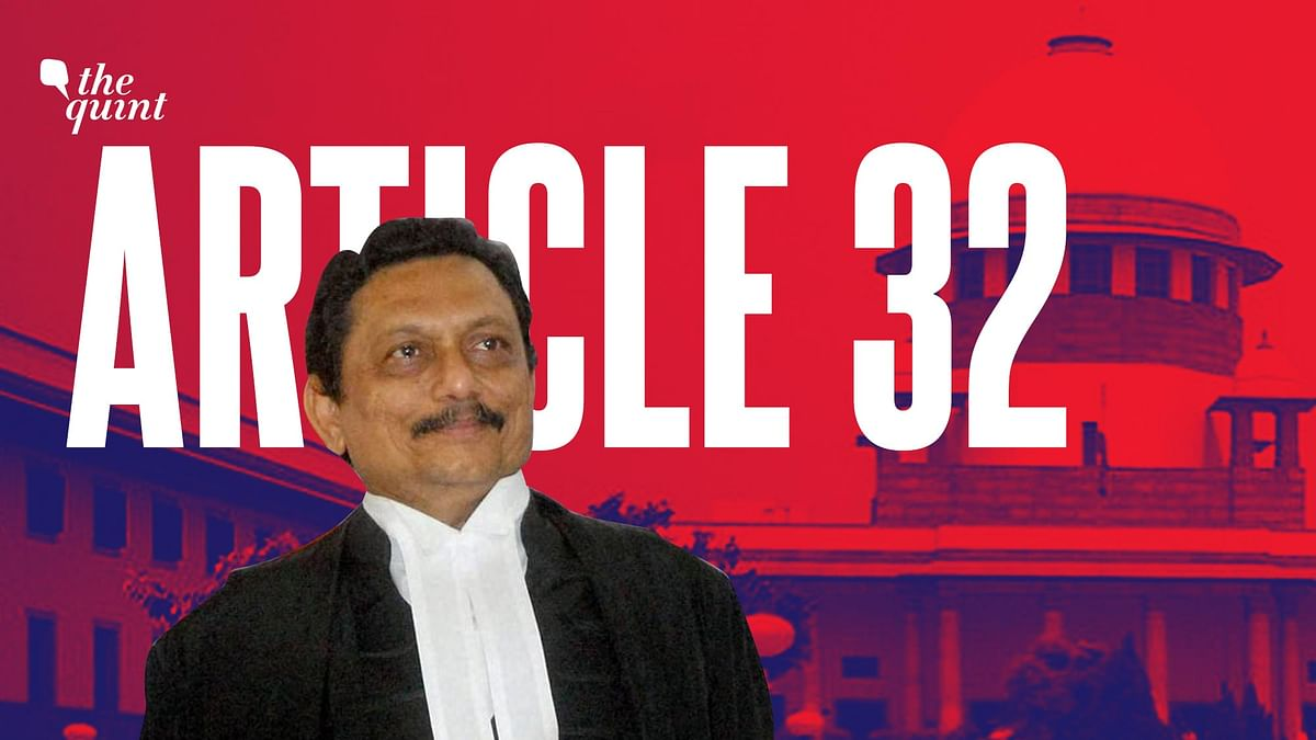 CJI SA Bobde has said that the Supreme Court is trying to discourage Article 32 petitions.