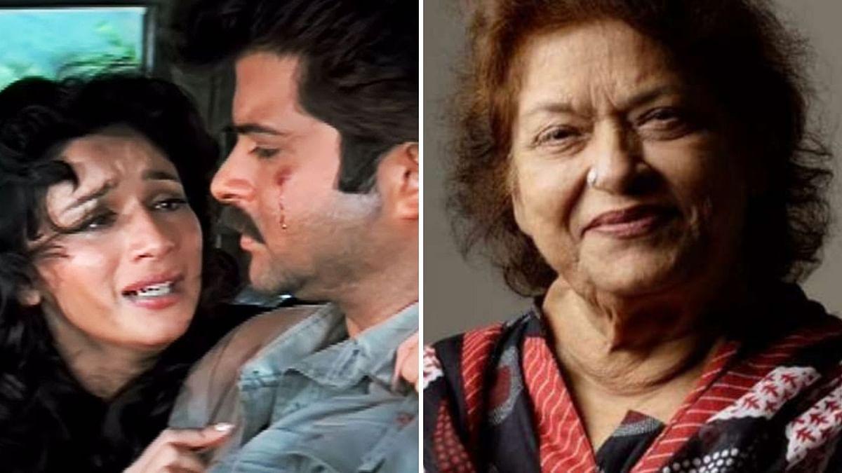 Anil Kapoor remembers Saroj Khan as Tezaab clocks 32 years.