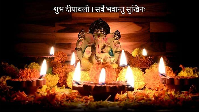 Diwali 2020 Hindi image for sharing on WhatsApp and Facebook.