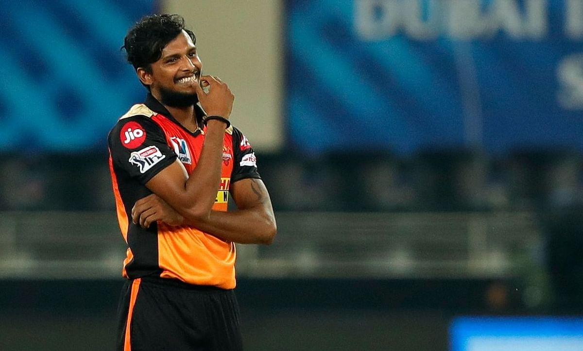 With 14 wickets and an economy of under 8, T Natarajan has been one of the stars for the Sunrisers Hyderabad in this IPL.