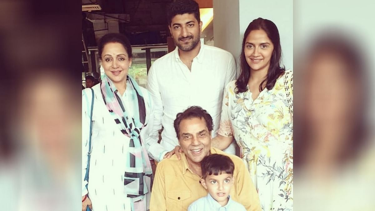 Ahana Deol Vohra becomes proud mother to twin girls.