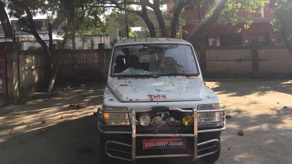 Munger SP vehicle attacked three days after Anurag Poddar lost his life amid clashes between the public and the police during Durga idol immersion in Munger. Image used for representation purpose.