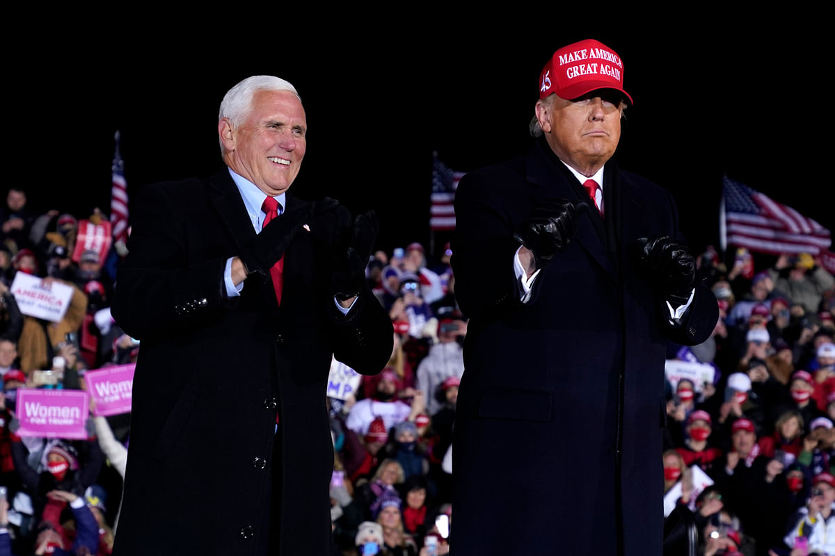 Trump wrapped up his re-election campaign in Grand Rapids, Michigan.