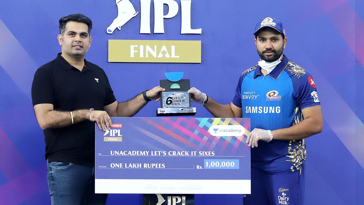 Full list of all individual awards given after the IPL 2020 final between Mumbai Indians and Delhi Capitals.