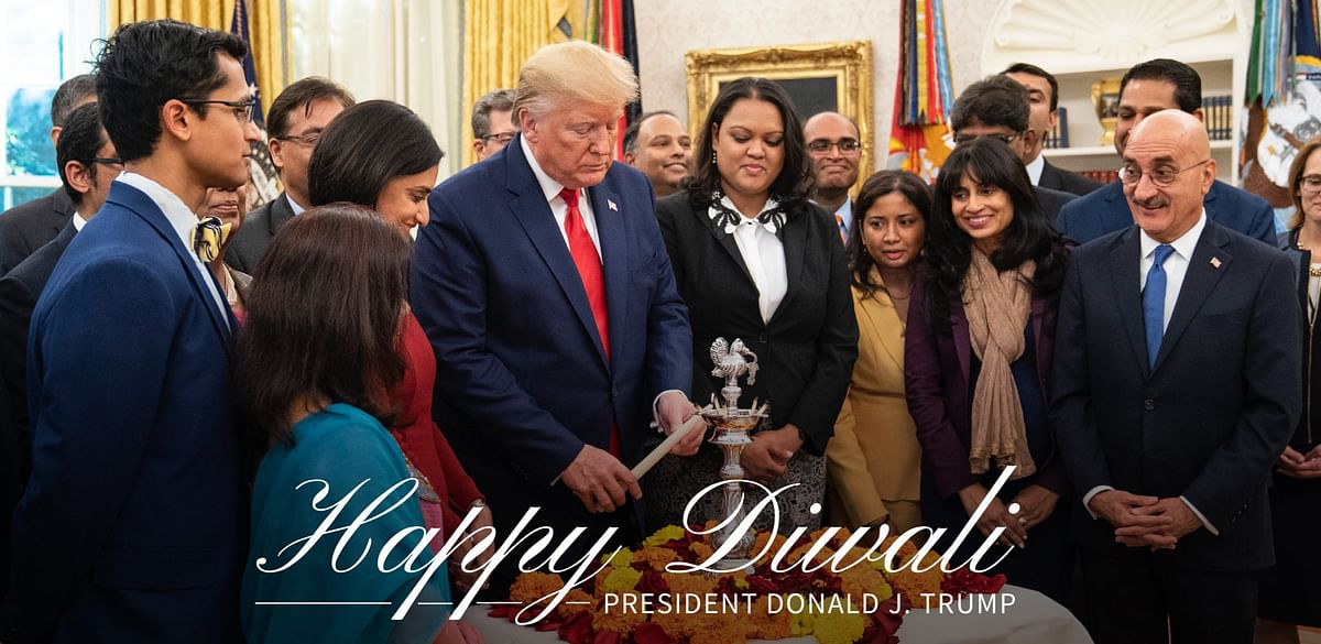 From Biden and Trump to Trudeau, World Leaders Wish 'Happy Diwali'
