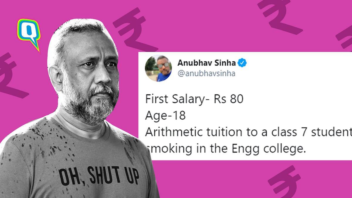 Anubhav Sinha, Hansal Mehta & Others Reveal Their 'First Salary'