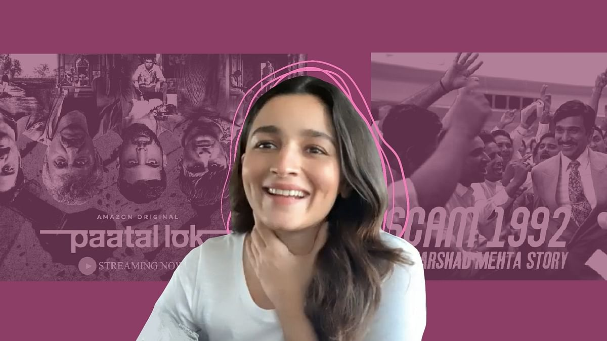 Alia Bhatt Tells Us Why She Loved 'Scam 1992' and 'Paatal Lok'