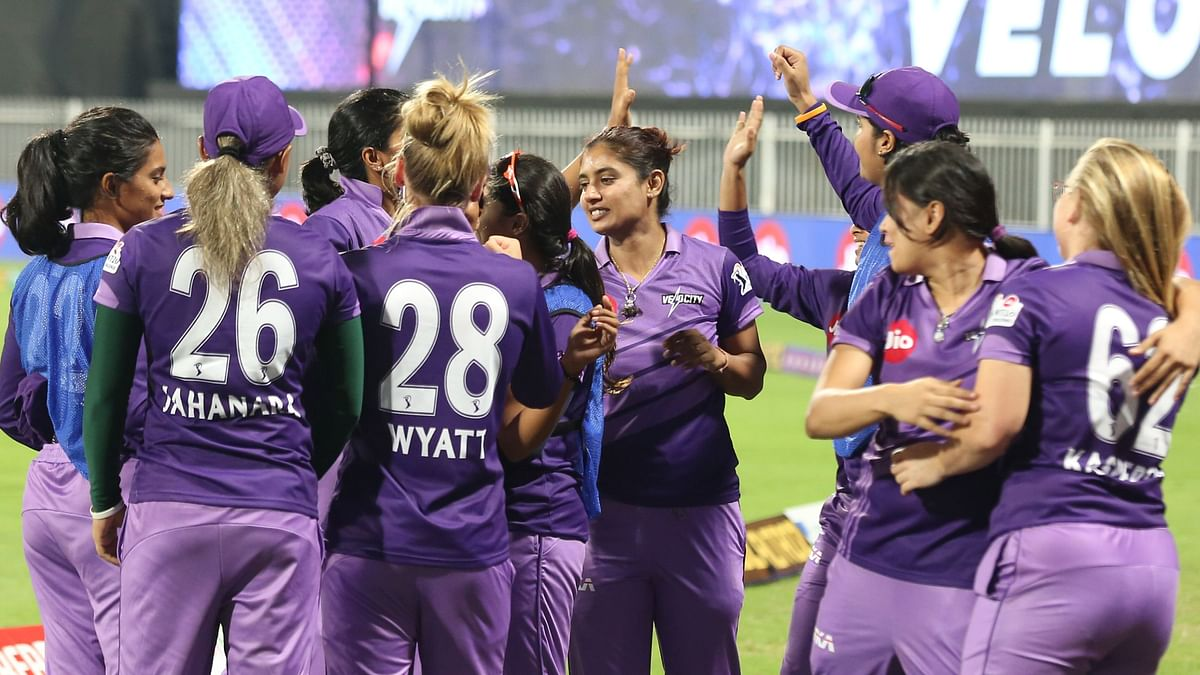 Sune Luus's unbeaten 37 and Sushma Verma's 34 handed Velocity a five-wicket win over Supernovas in the first match of the Women's T20 Challenge.