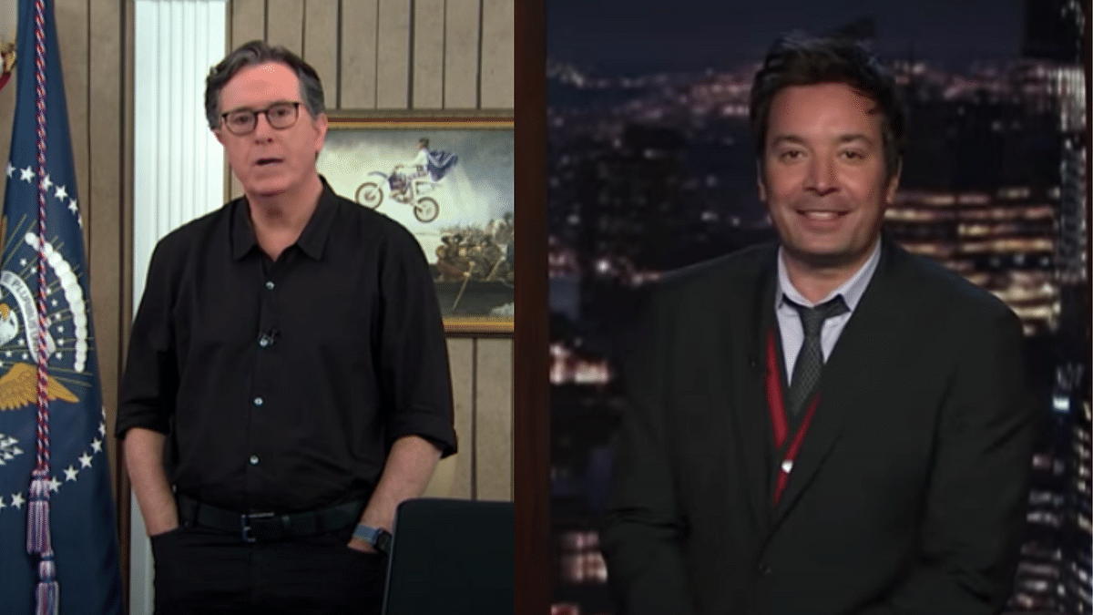Tried to Poison Democracy: Late Night Show Hosts on Trump's Claims