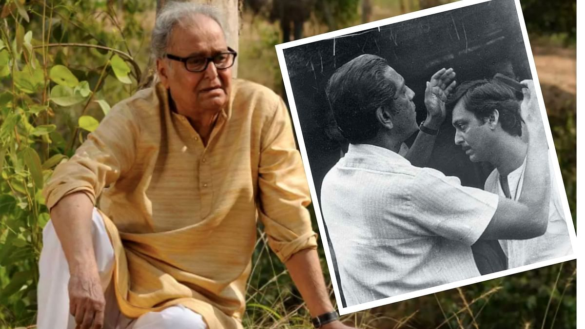 Filmmakers, politicians, actors react to Soumitra Chatterjee's death.