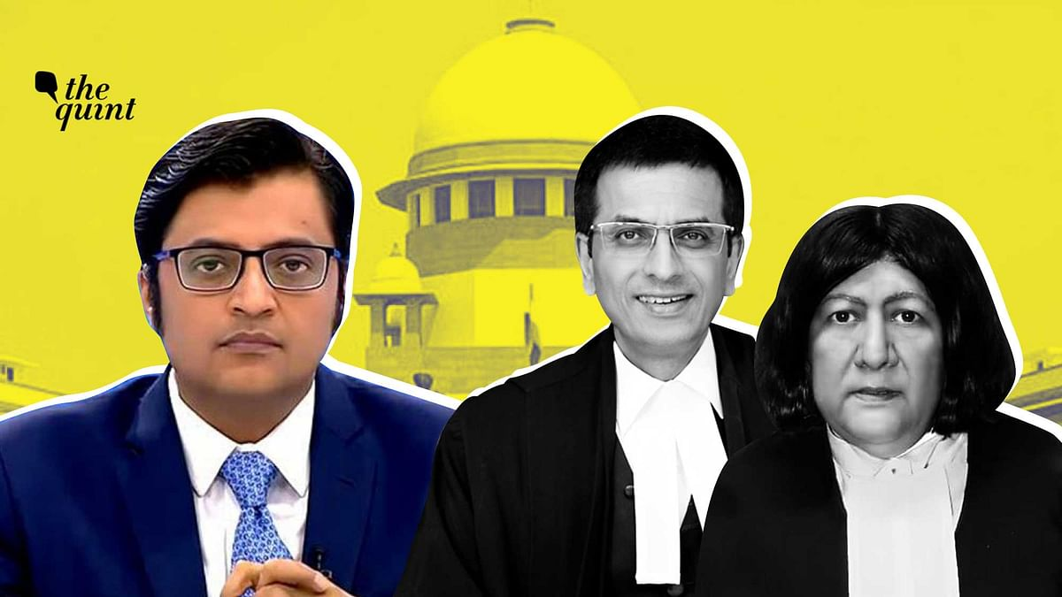 Arnab Leaves Taloja Jail After SC Order Granting Him Interim Bail
