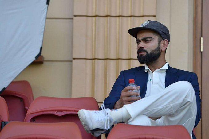 File image of Virat Kohli from India's tour of Australia in 2018.