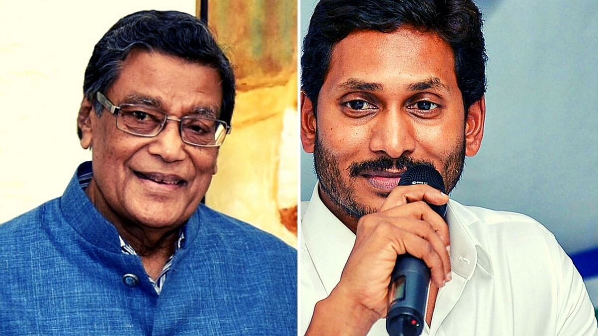 AG KK Venugopal and Andhra Pradesh CM YS Jaganmohan Reddy.