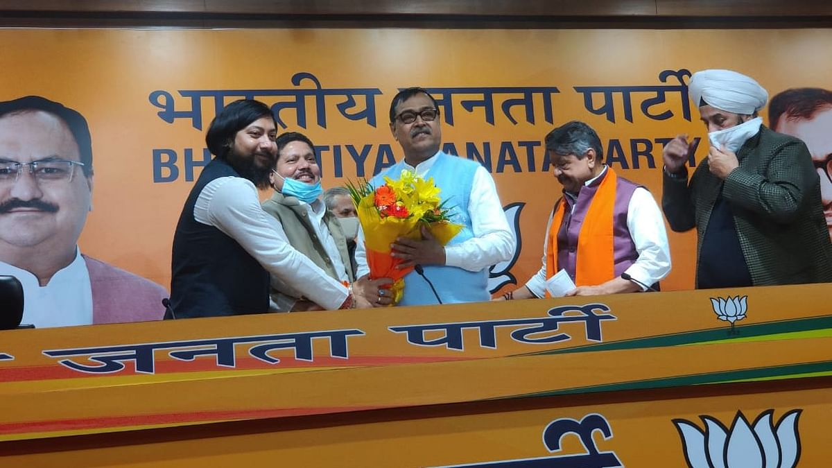 Former TMC MLA from Cooch Behar Mihir Goswami, who had expressed his desire to quit the party, on Friday 27 November, joined the Bharatiya Janata Party (BJP).