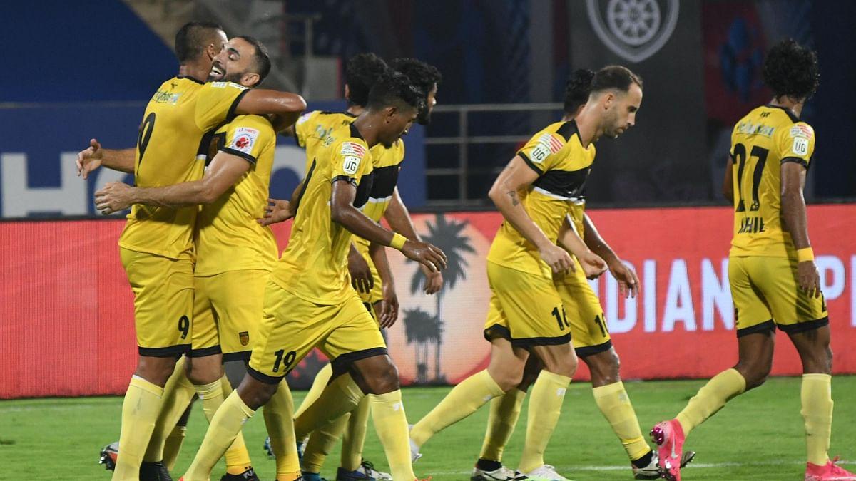 Santana's Penalty Helps Hyderabad Over the Line Against Odisha