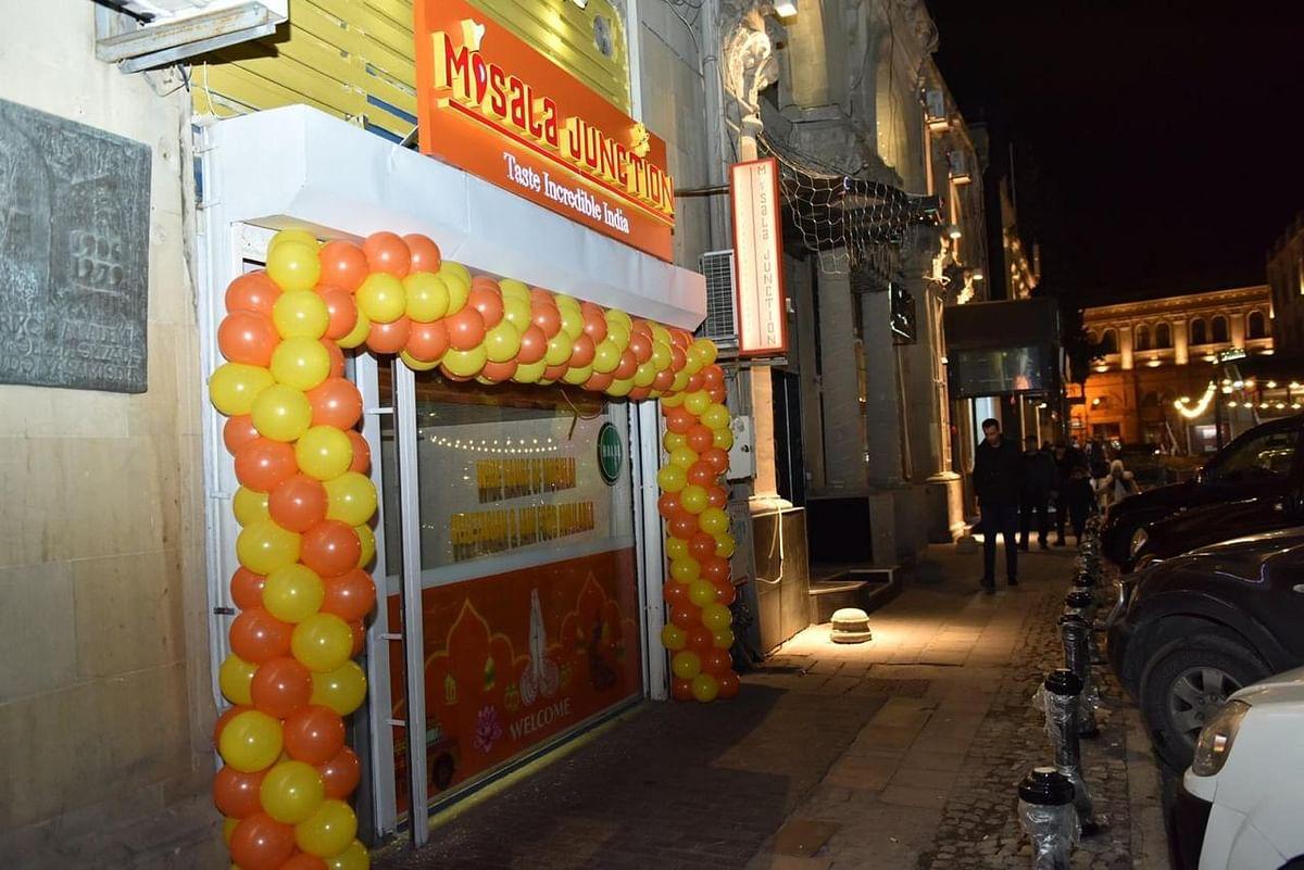 My family's restaurant in Baku.