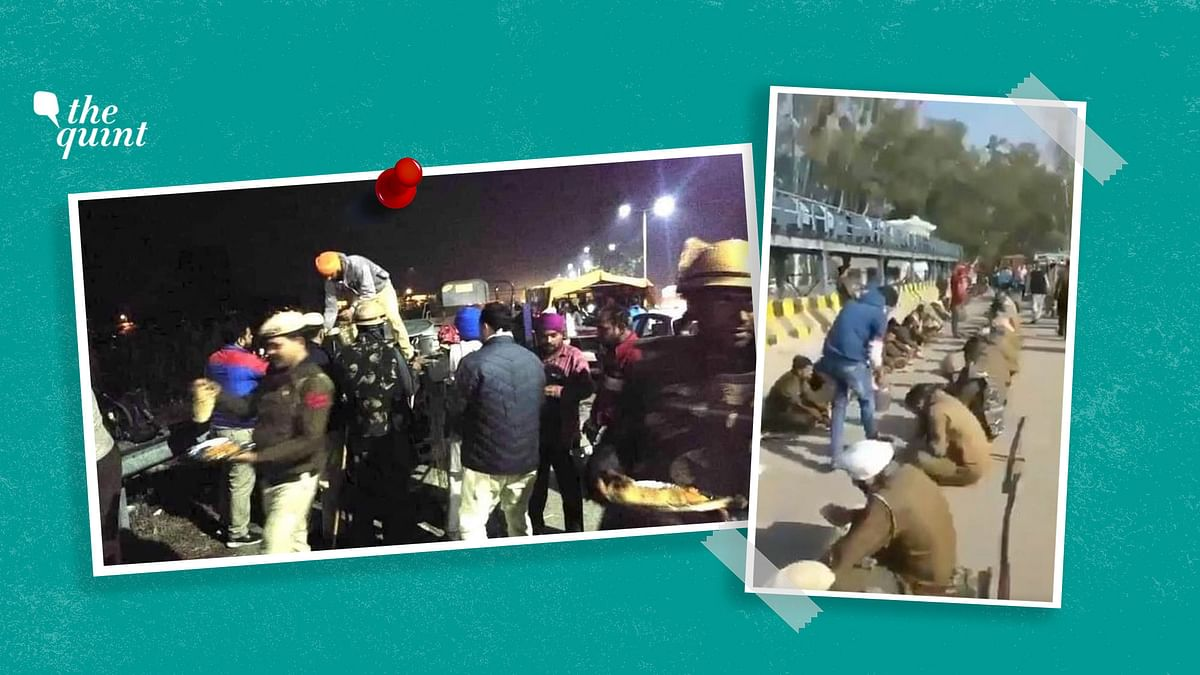 Langar for Cops, Protesters: Images of Hope at Farmers Protest