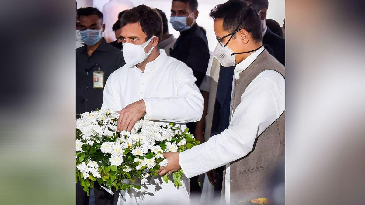 Rahul Gandhi Pays Tribute to Tarun Gogoi, Calls it 'Personal Loss'