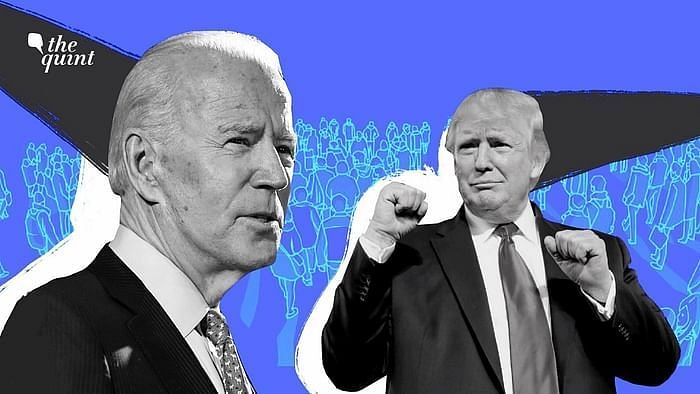 US Presidential Elections 2020: US President Donald Trump and former Vice-President Joe Biden.