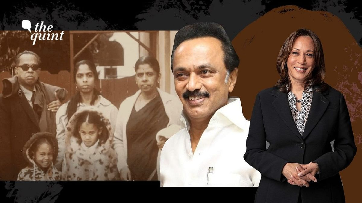 MK Stalin said it was a matter of pride for the people of Tamil Nadu that America's first woman vice-president has a link to the state.