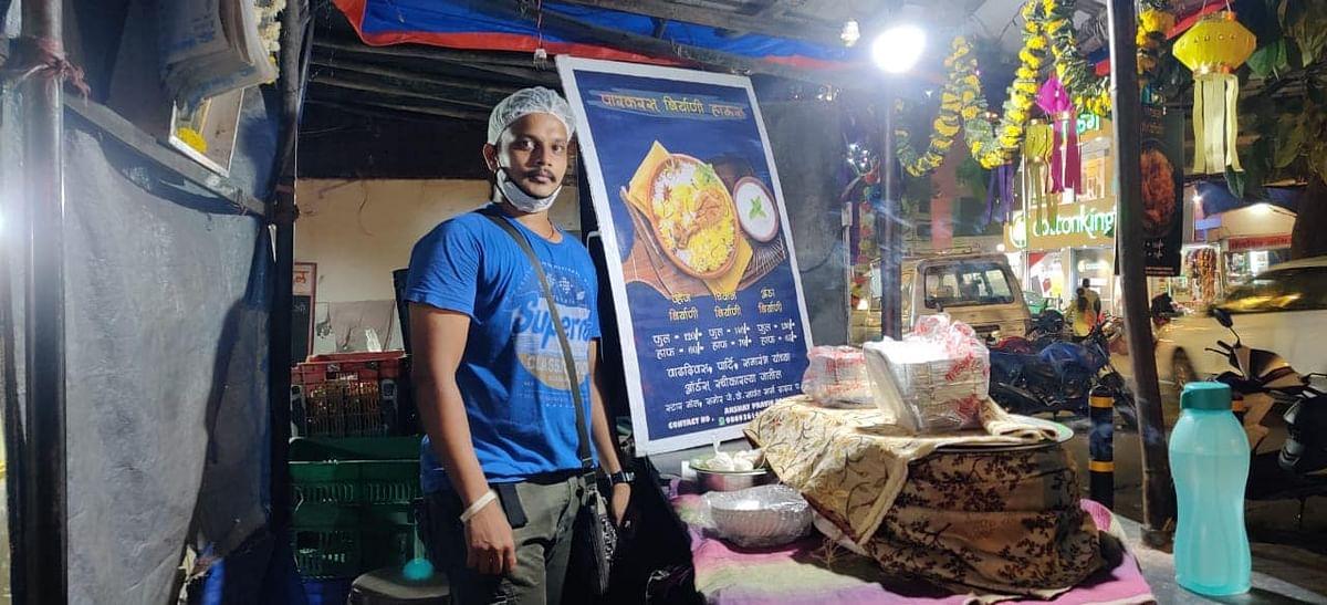 5-Star Cruise Chef Becomes a Streetside Biryani Seller Amid COVID