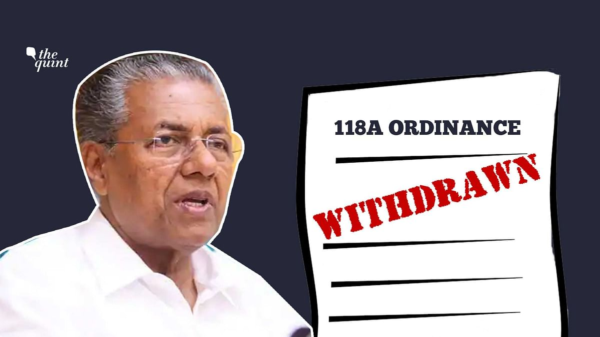Kerala Govt to Withdraw 'Draconian' Ordinance, No FIRs to Be Filed