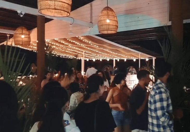 Crowded clubs in Goa.