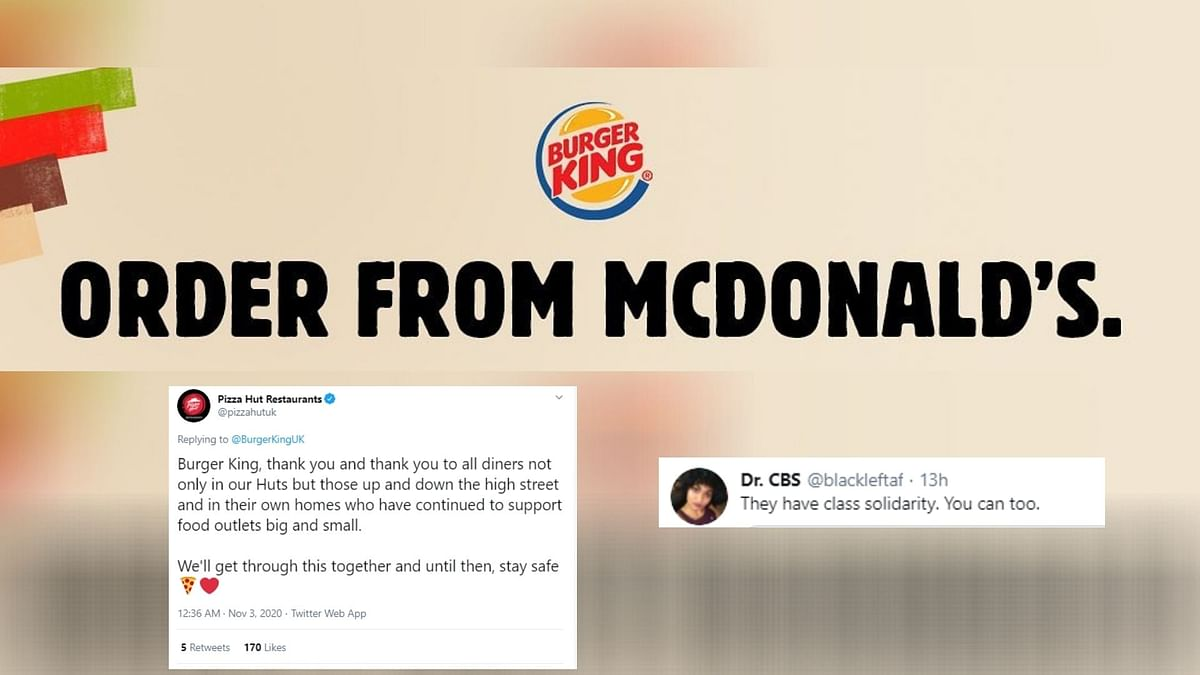 Burger King Asks Customers To 'Order From McDonald's, Here's Why