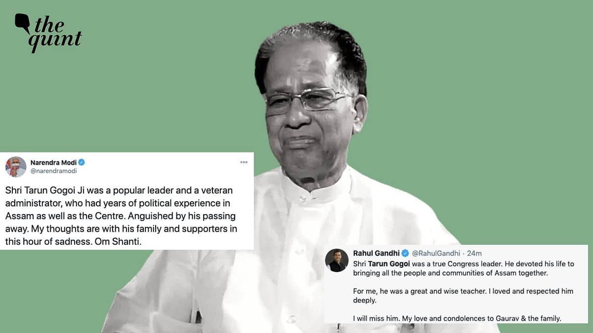 'Veteran Leader, Teacher': Modi, Rahul Pay Tributes to Tarun Gogoi