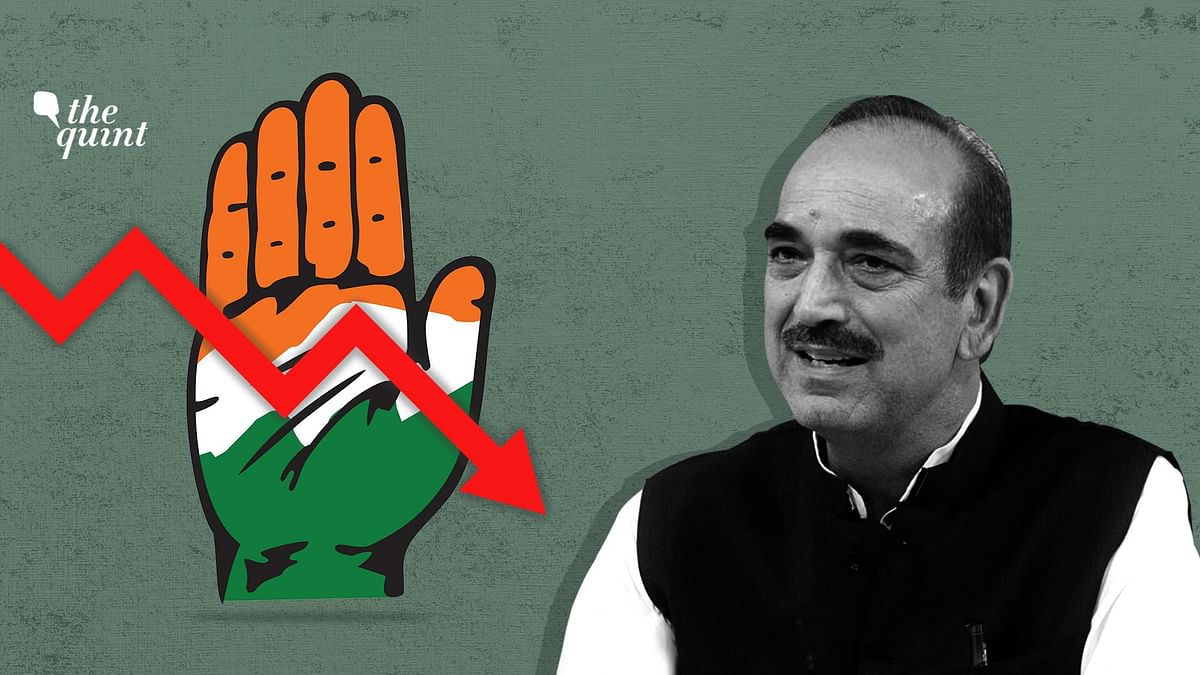 Azad Blames Cong's 'Death' on Sycophancy; Gives Gandhis Clean Chit