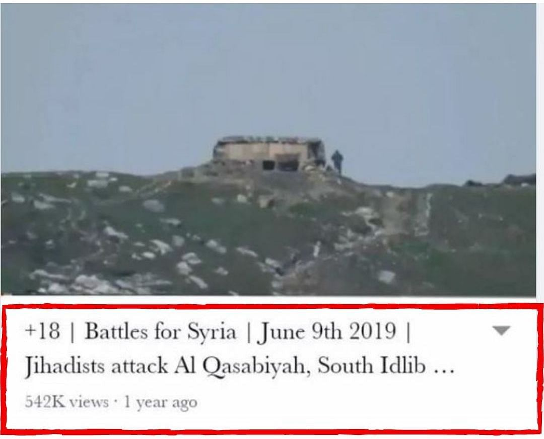 Video of Army Destroying Pak Bunker Discredited With Edited Image