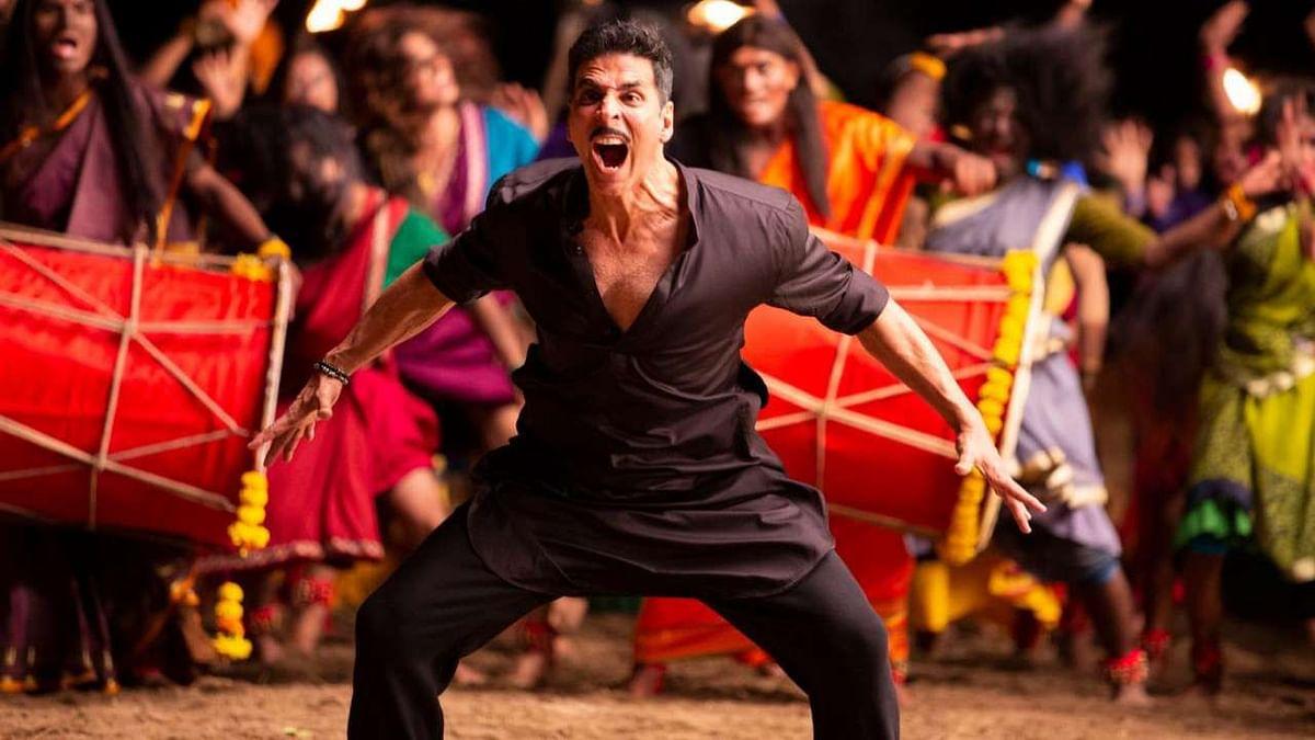 Akshay Kumar in a still from <i>Laxmii</i>.