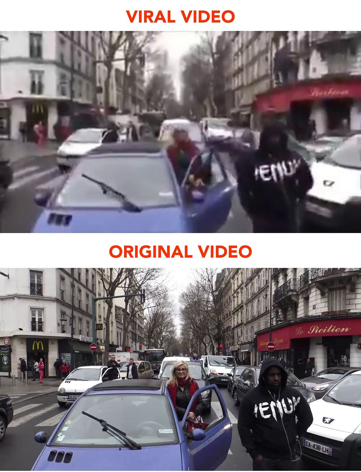 No, This Video of Muslims Offering Prayers in France Isn't Recent